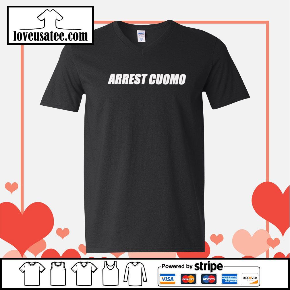 Arrest cuomo V-neck-T-shirt