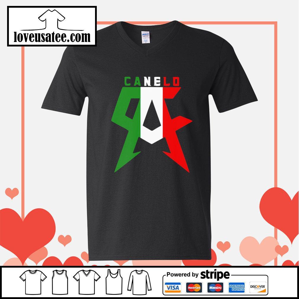 Canelo alvarez V-neck-T-shirt