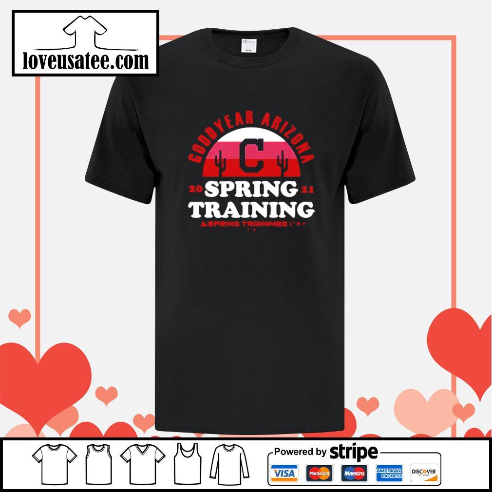 Goodyear Arizona 2021 spring training Cleveland Indians shirt