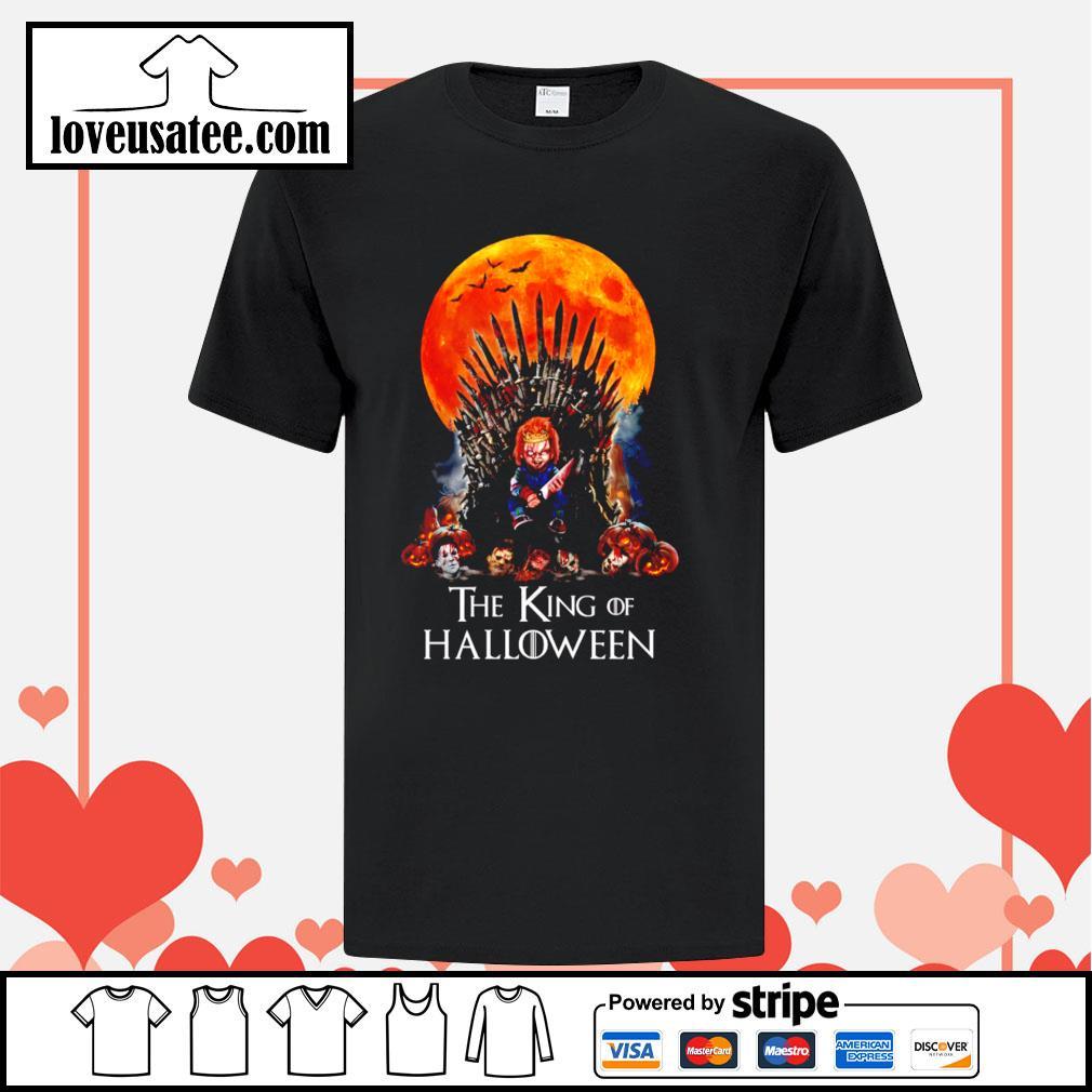 Chucky the King of Halloween shirt