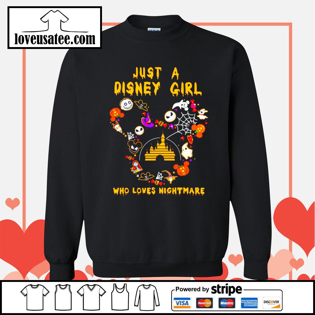 Jack Skellington just a Disney girl who loves nightmare s Sweater