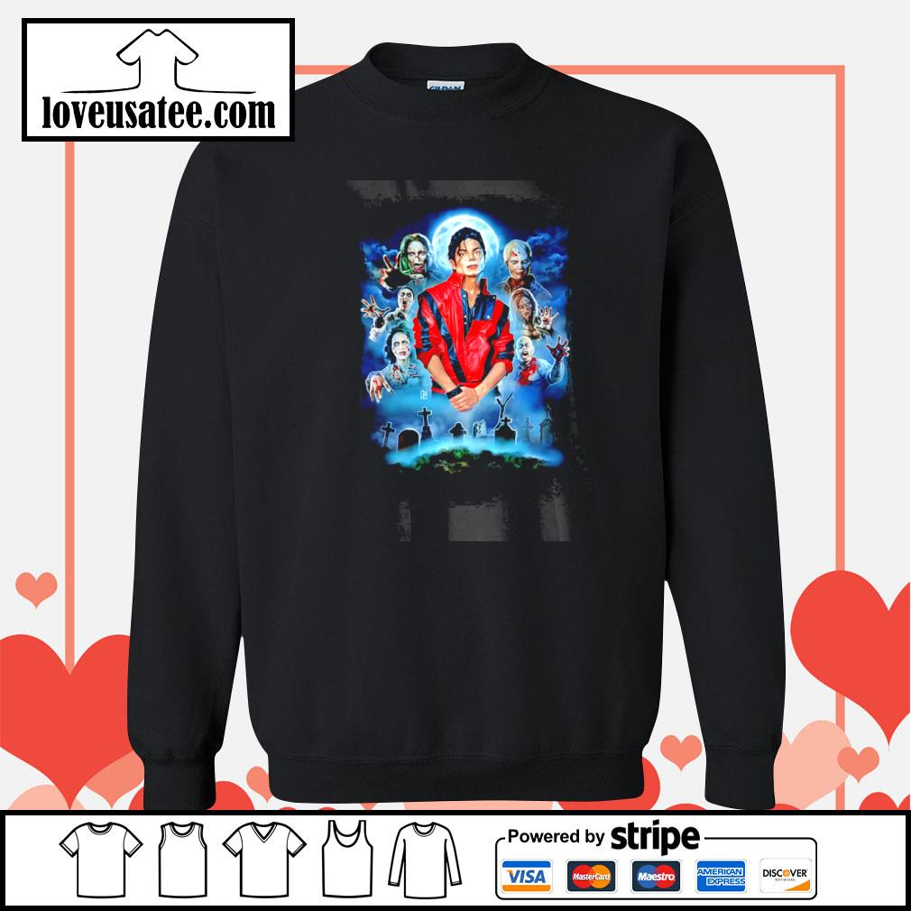 Michael jackson thriller tribute s sweater