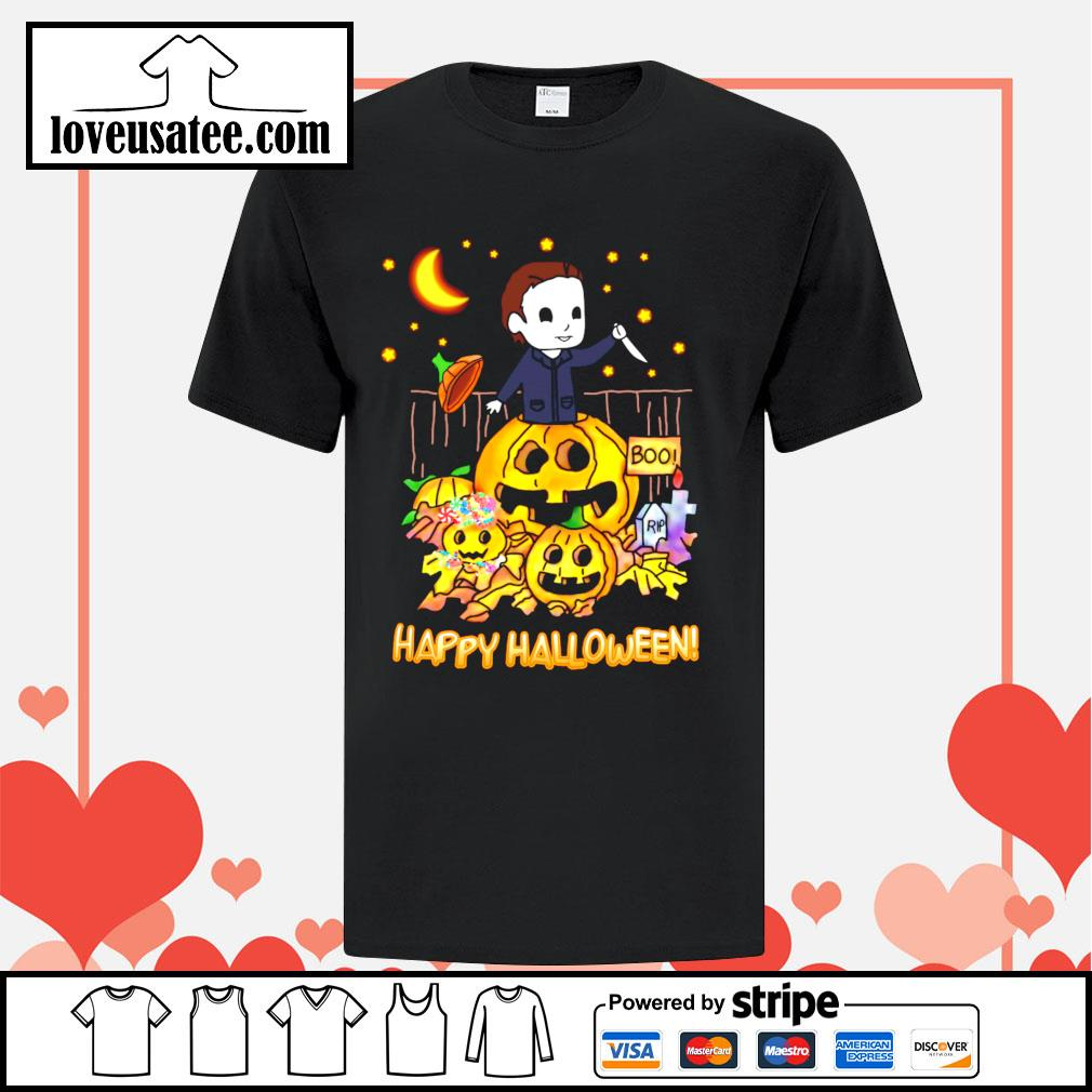Michael Myers Happy Halloween shirt